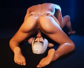 3D Porn – Girl with Gorgeous Body having Sex with Lucky Man